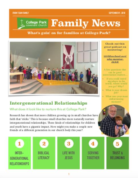 College Park Kids – College Park Covenant Church